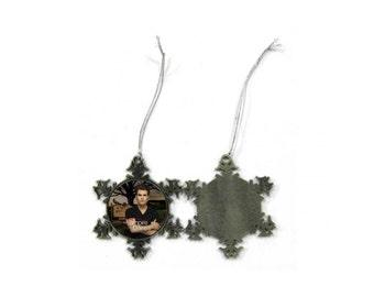 The Vampire Diaries Stefan Salvatore Paul Wesley Christmas Ornament