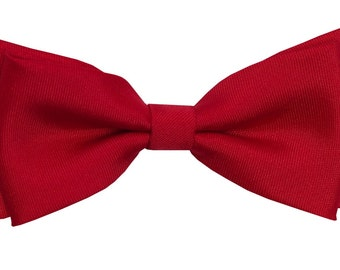 Red bow tie for boy