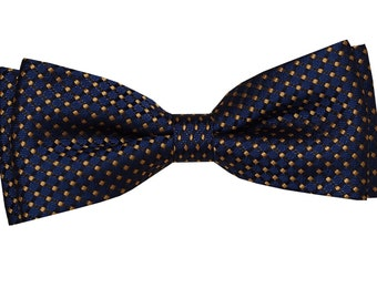 Blue bow tie for boy
