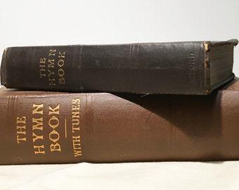 Antique Hymn books - 1910s - Book Bundle - Vintage Book - Vintage Library