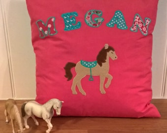 Personalised Horse Cushion