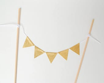 Cake Topper. Gold Cake Topper. Cake Topper Birthday. Cake Topper Wedding. Cake Garland. Cake Bunting. Cake Topper For Wedding. Cake Decor