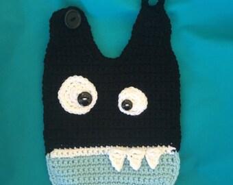 Baby bib / crochet baby bib / baby boy / baby girl / handmade
