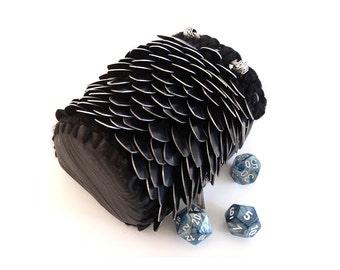 Shadow Dragon Scale Bag
