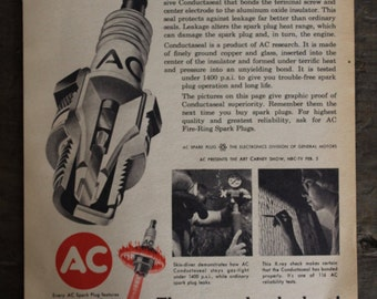 AC Fire-Ring Spark Plug Ad 1971