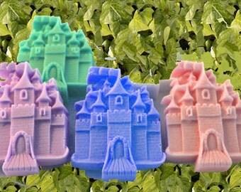 Castle Soap,Princess Castle Soap, Fairytale Castle, Kids Soap,Party Favor