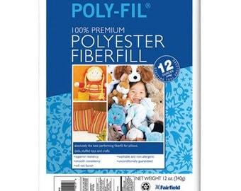 Poly-Fil Stuffing - 12 oz