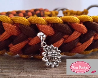 Your very special necklace made of parachute cord