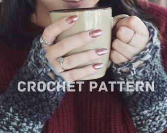 PATTERN // The Sedona Gloves // Fingerless Gloves