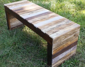 Rustic Reclaim bench
