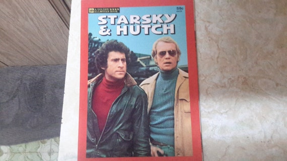 starsky and hutch golden book 1977