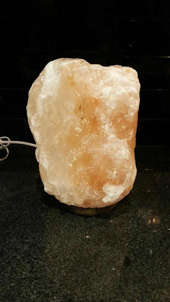 Salt Lamps Overnight : Natural Himalayan Salt Lamp Ionic Air Purifier Rock Crystal