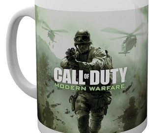 Call of Duty 4 Modern Warfare  gaming fan Mug