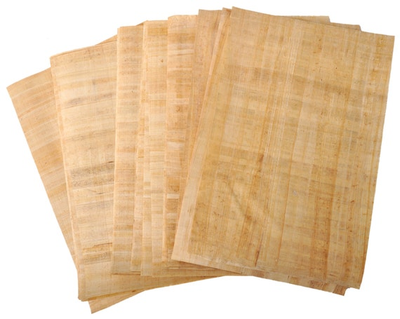 Ancient Egyptian Papyrus Paper Egyptian Papyrus blank...