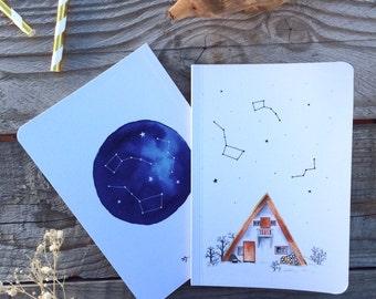 The constellation notebook - book traveler
