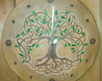 clock leather repel TREE OF LIFE