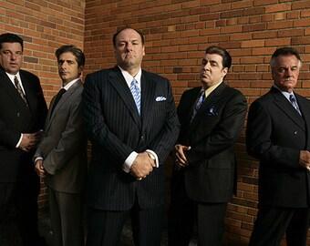 Sopranos – Sopranos Wall Art – Sopranos Poster – Sopranos Print – Mafia - Gangster - Mob - 12x18 - 24x36 (TSS287)