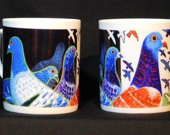 Pigeon China Mug