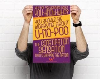 Harry Potter - Weasleys' Wizard Wheezes - U-No-Poo Poster