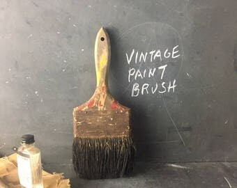 vintage Paint brush