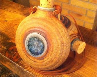 Pottery Pocket Flask