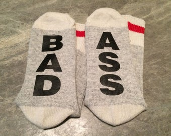 Bad Ass (Socks)