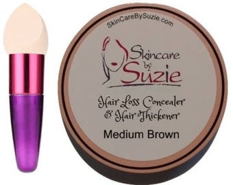 Hair Loss Concealer And Hair Thickener By Skin Care By Suzie