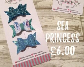 Sea princess bow set
