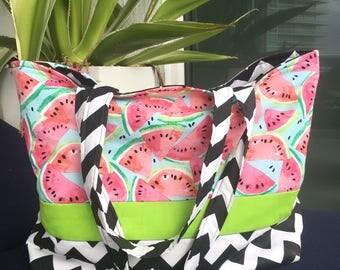 JeNoelle Watermelon Tote