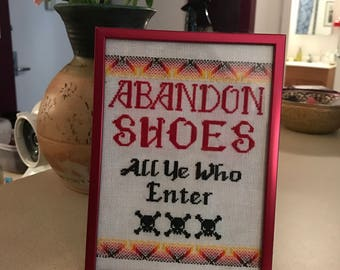 Abandon Shoes!