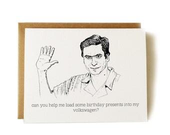 ted bundy birthday card