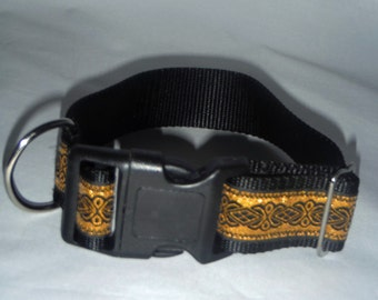 Gold and Black Collar
