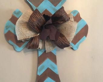Rustic Cross Door Hanger