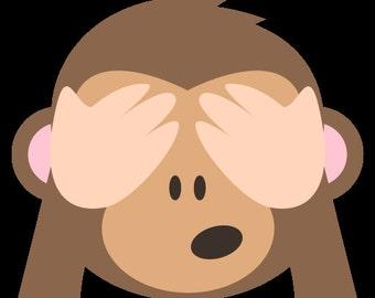 4x STATIC CLING Emoji Webcam Covers
