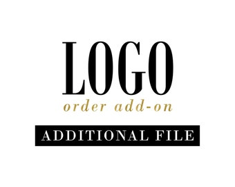 Additional Files Add-On to a Premade Logo Purchase