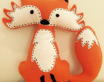 Mr Fox plush toy