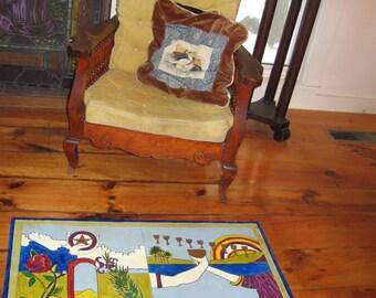 Wedding Tarot Floor Cloth