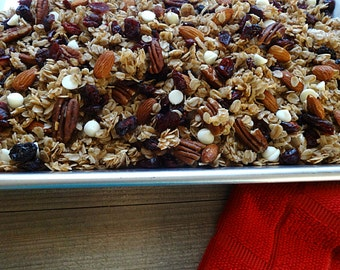 Cranberry White Chocolate Loose Granola