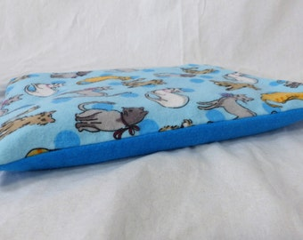 Polka Dot Clowder ~ Natural Heating Pad Cover