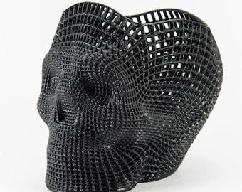 3D Printed Skull Pencil Holder