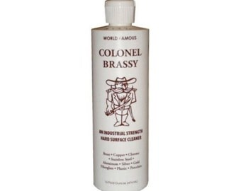 Colonel Brassy Hard Surface Cleaner Industrial Strength from Vertex Industries