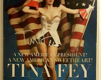 Tina Fey Autograph