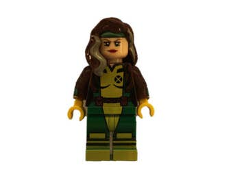 Custom LEGO Minifigures - Rogue Made with LEGO Parts