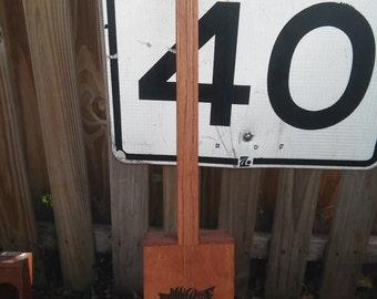 Three String Cigar Box Guitar made by Simple Cigar Box Guitars