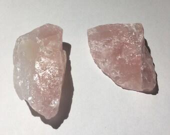 Rose Quartz Rock 30-50 gram