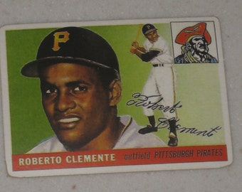 1955 Topps Roberto Clemente Rookie #164