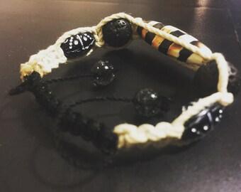 Imperial Zebra - Hand Woven - Bracelet