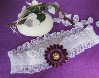 Lace wedding garter garter velvet elastisce lace wedding