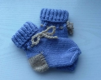 Baby Wool Socks Newborn Socks Hand Knit