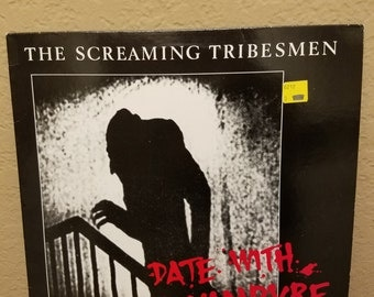 The Screaming Tribesmen - Date with a Vampire vinyl album